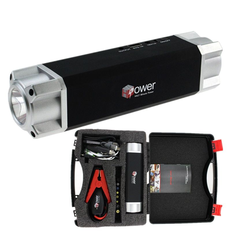 Auto Starthilfe Für Benzin 8.0L Diesel 6.0L-700A Peak High Power Bank Auto Jumper Notfall Auto Batterie Silbrig schwarz