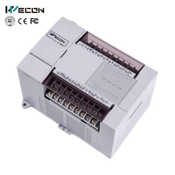 wecon LX3V-1412MT-D 24 points plc apply in automatic door