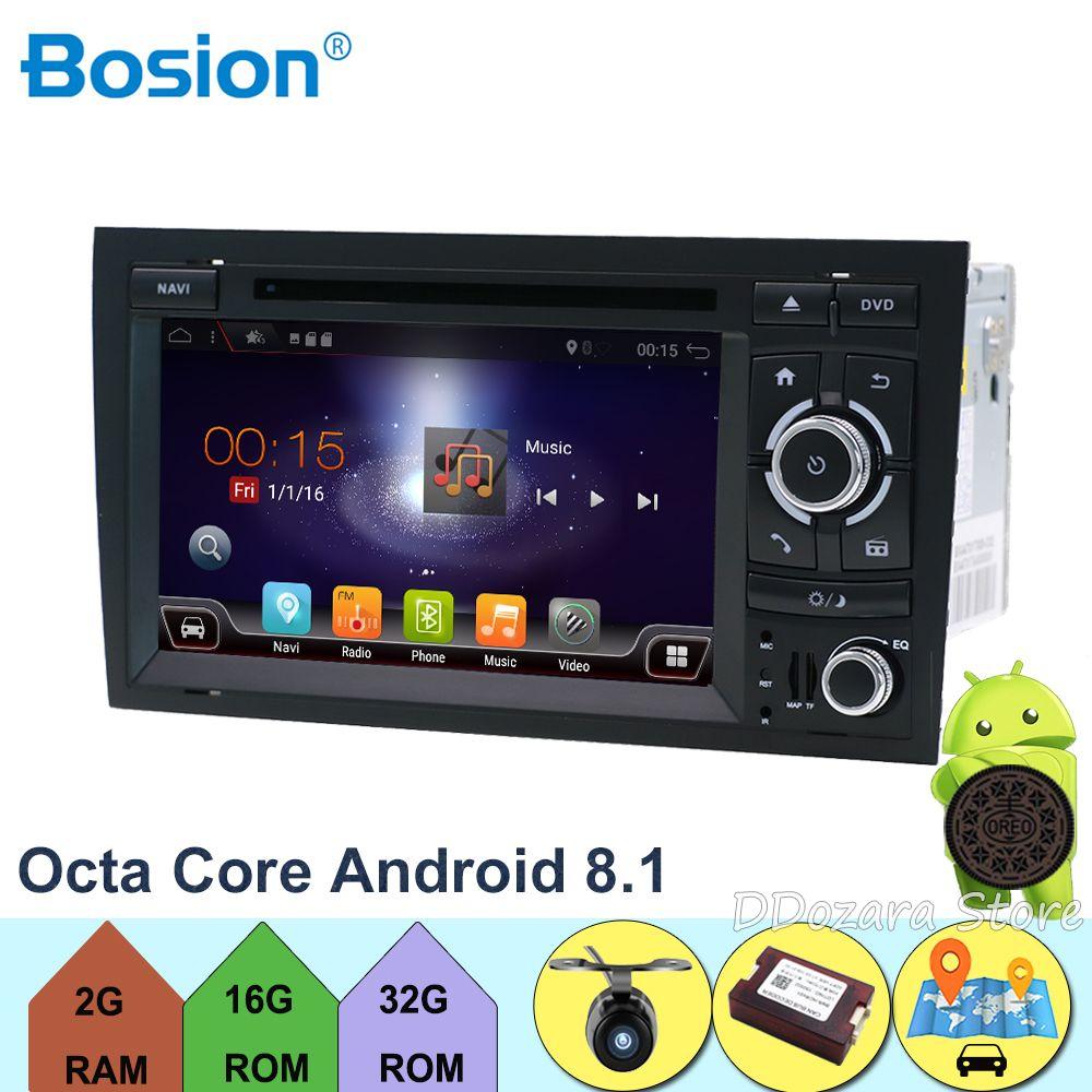 Octa Cores Für Audi A4 B6 B7 S4 B7 B6 RS4 B7 SITZ mit Wifi GPS Navi SWC Bluetooth Kamera canbus Unterstützung 3G/4G, DAB +, OBD, TV, TPMS