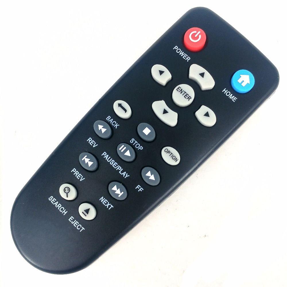 Nouvelle Télécommande De Remplacement Fit Control Pour WDWestern Numérique TV Live TV Plus Mini HD Hub Media Player WDTV001RNN