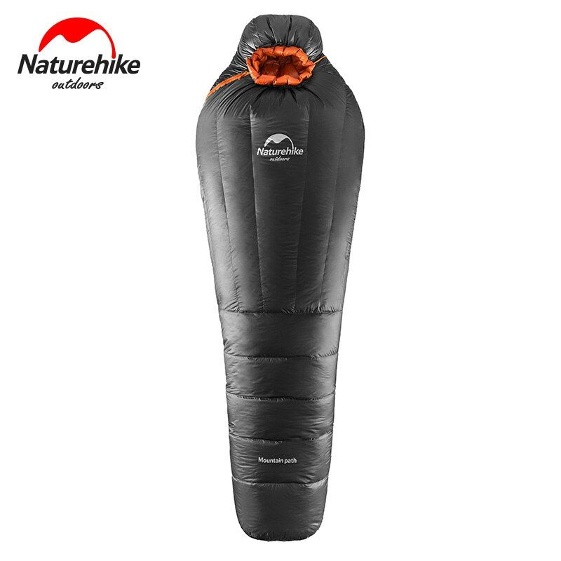 NatureHike Mummy 1 Person Spring Summer Autumn Winter Hiking Cycling Trekking Travel Cotton Inddor Outdoor Camping Sleeping Bag