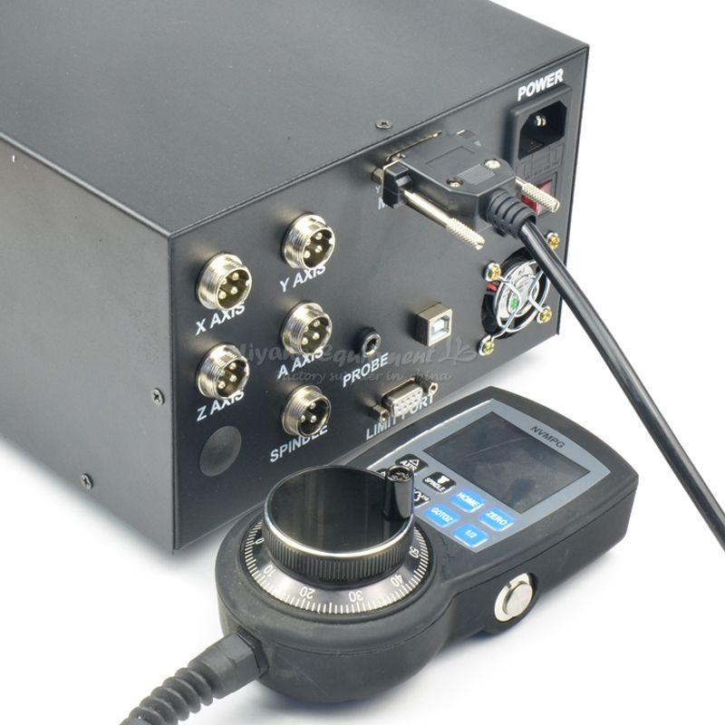 CNC graviermaschine control box MACH3 usb-schnittstelle NCB02 mit digital handrad controller