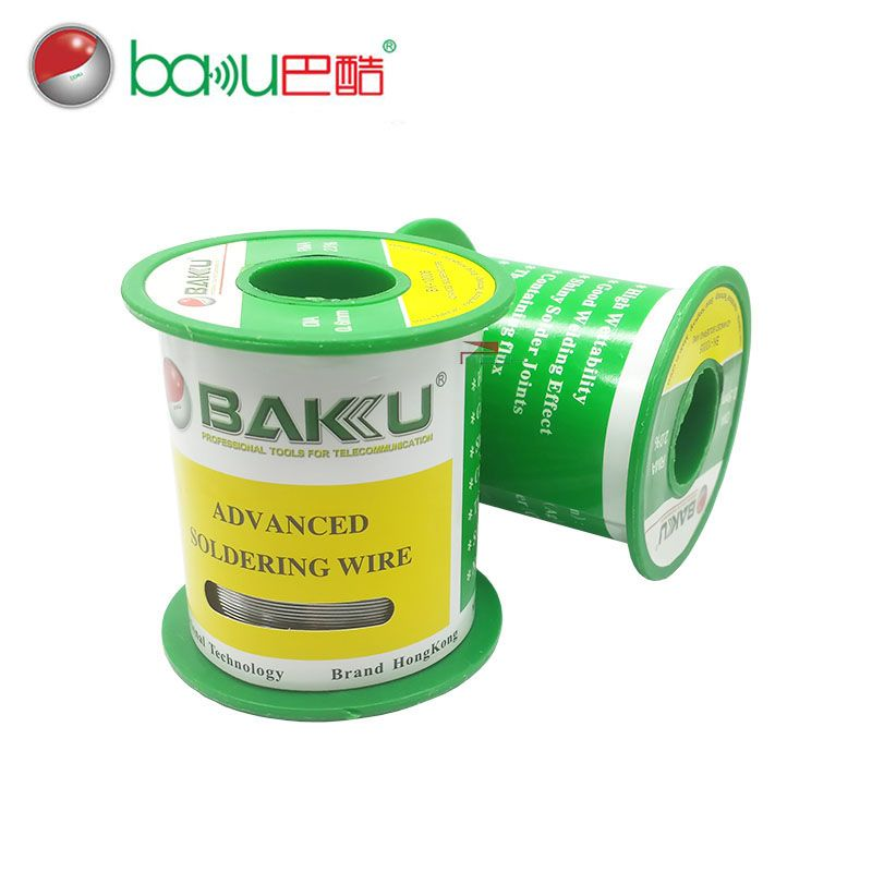 BAKU Advanced Soldering Wire, Lead Free Tin Silver Copper Solder Wire, 0.2, 0.3, 0.4, 0.5, 0.6 mm for Choice