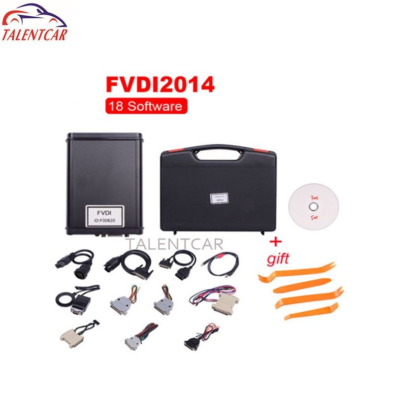 Hot Selling FVDI 18 Full Set Commander Abrites OBD Diagnostic Tool For Most of Car