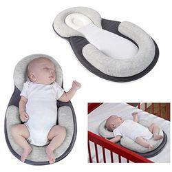 Kasur bayi Stereotip Bantal Bayi Baru Lahir anti-rollover Bantal Untuk 0-12 Bulan Bayi Tidur Posisi Pad Kapas bantal