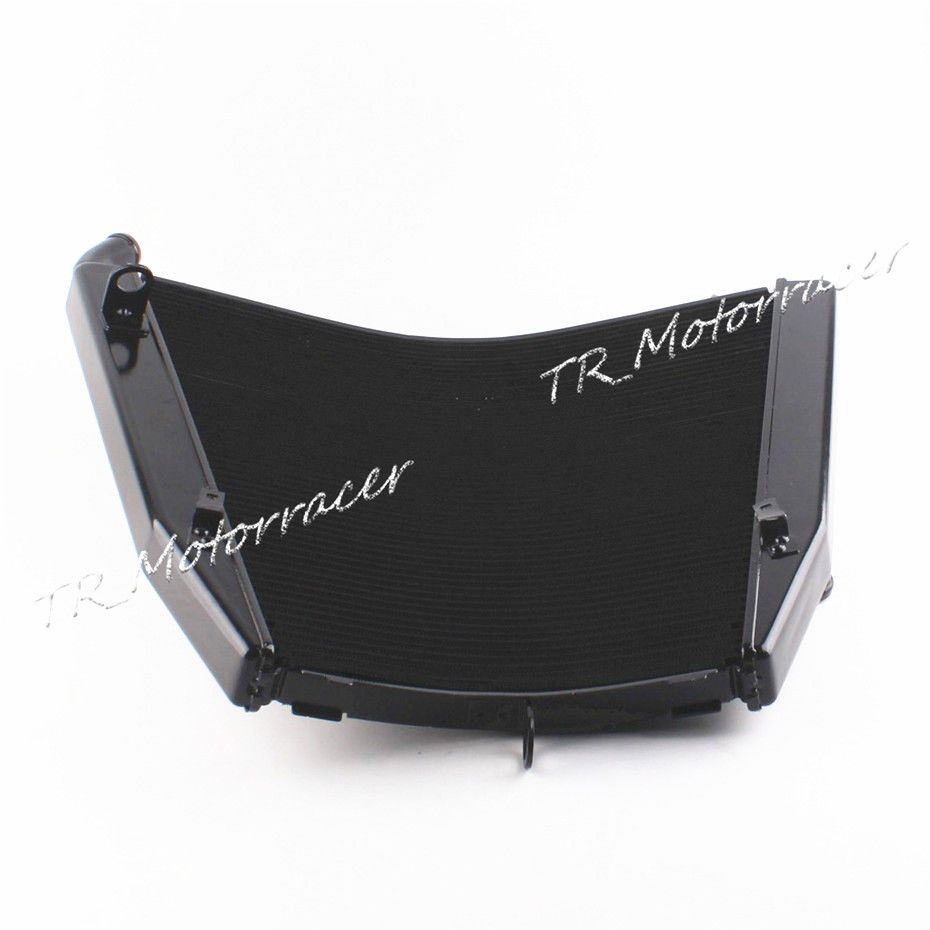 Motorcycle Radiator For Honda CBR1000RR 2006 2007 Aftermarket Replacement Aluminum Water Cooling Black