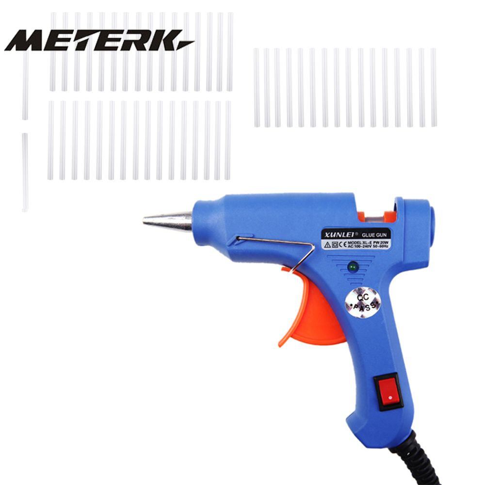 High Temperature Heater Melt Hot Glue Gun 50 Glue Sticks Graft Repair Tool Heat Gun pistolas silicona caliente pistolet colle