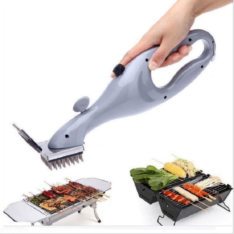 Barbecue acier inoxydable BBQ brosse de nettoyage extérieur gril nettoyant avec vapeur puissance bbq accessoires outils de cuisson