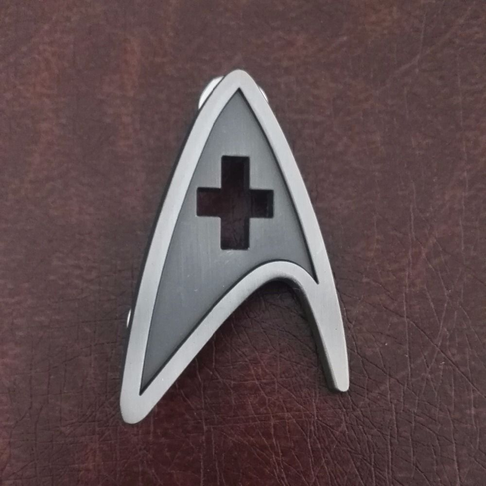 Star Trek Badge Cosplay Starfleet Medical Division Badges Brooch Pin