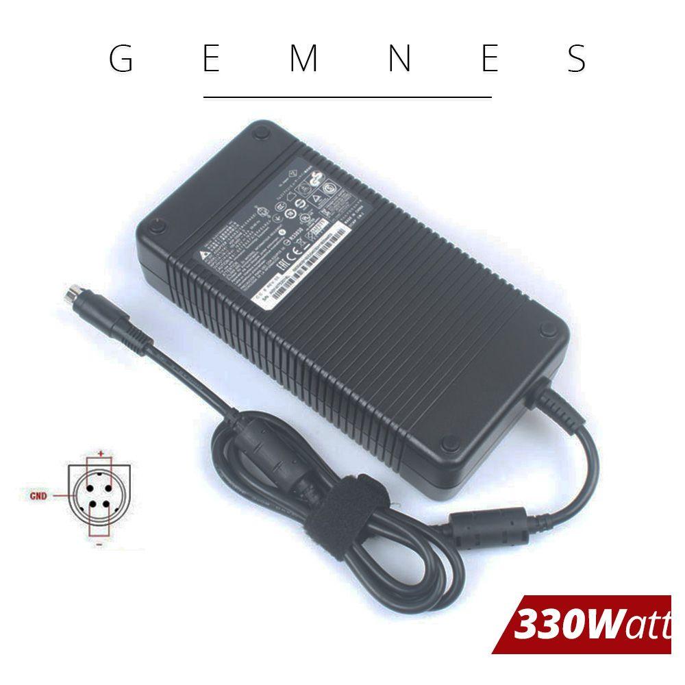 Delta 330 W Laptop Ladegerät Adapter für MSI GT80 2QE-021FR Titan SLI Gaming GT83VR Trident3 Serie 19,5 V 16.9A 4 löcher ADP-330AB D