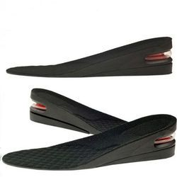 Silicone Man Shoe Insole Air Cushion Heel Sport Insert Increase Taller Height Lift 5cm