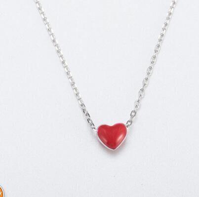 CAN011 925 серебряное ожерелье с коробкой