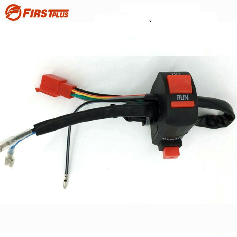 7/8 Motorcycle Handlebar Control Switch Ignition Kill Start Switch ON OFF For YAMAHA BWS Kawasaki Electric Dirt 125 Pit Bike
