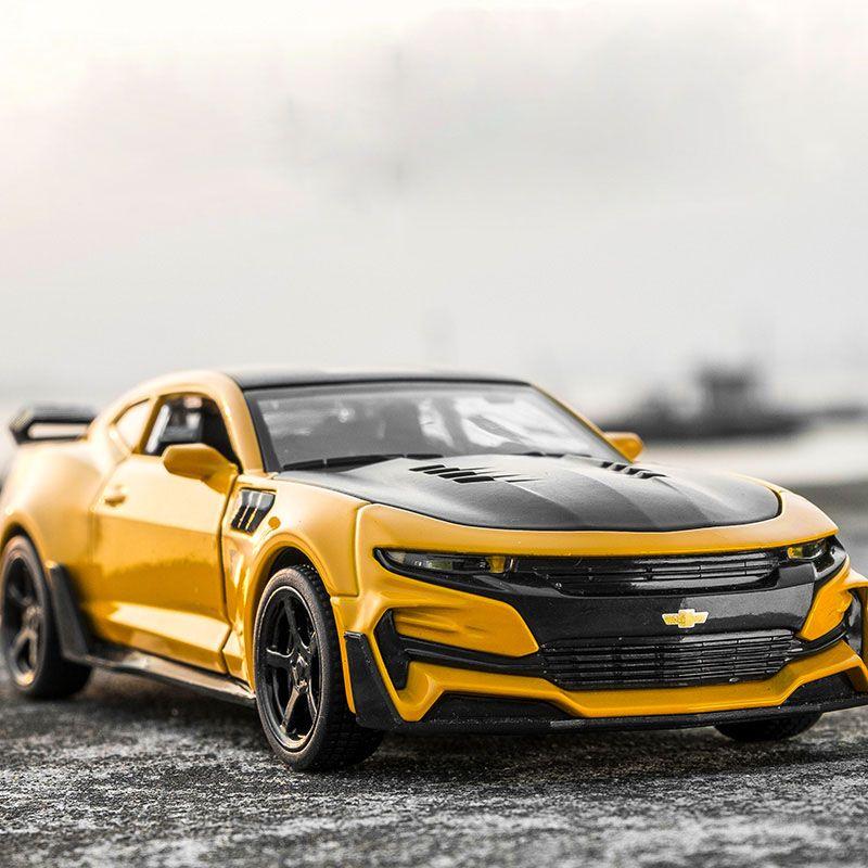 1:32 KIDAMI Camaro Alloy Diecast Model car <font><b>Pull</b></font> Back Collection Toys for children,kids and adult oyuncak araba gift hot wheels