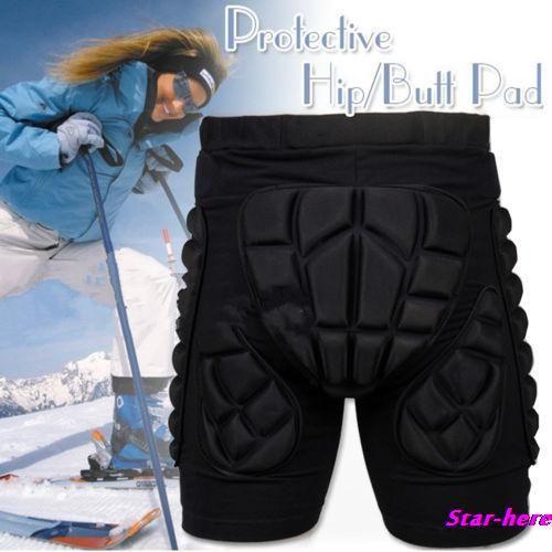 SizeXS-3XL Schutzausrüstung Hüfte Gepolsterte Shorts Skifahren Skating Snowboard Schutz