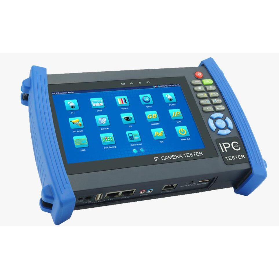 CCTV kamera tester IPC-8600 MOVTADHS PLUS 4K H.265 ipc 8MP TVI CVI, 5MP AHD SDI/EX-SDI 7 zoll retina touch screen WIFI