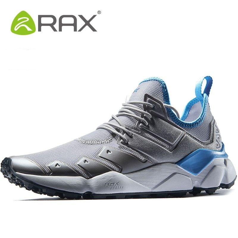 RAX Men Hiking Shoes Breathable Sport Shoes For Male Outdoor Athletic Tactical Trekking Sneaker Man Brand Walking Mens Sneakers