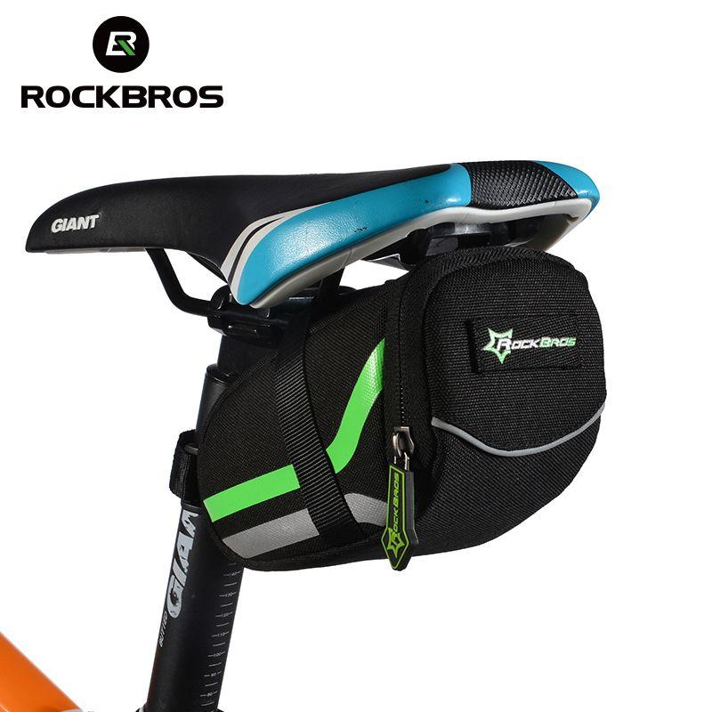 ROCKBROS sac de vélo montagne sacs de selle de vélo de route Anti-rayure cyclisme équitation siège Post arrière sacoches vélo accessoires vtt