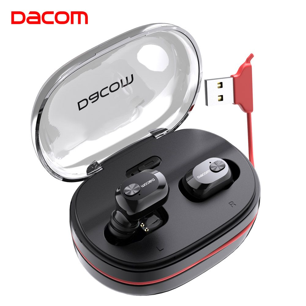 Dacom K6H Pro Bluetooth Earphone 5.0 Wireless Headphones Ear Buds TWS True Wireless Earbuds Ear Pods Mini Headset PK i12 i10 tws