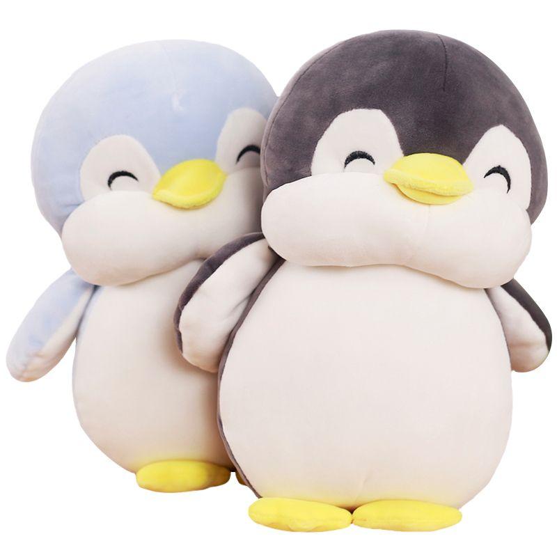 1 pc 30 cm Doux graisse Pingouin En Peluche Jouets Doté Animal de Bande Dessinée poupée De Mode Jouet pour Enfants Bébé Belle Filles De Noël D'anniversaire cadeau
