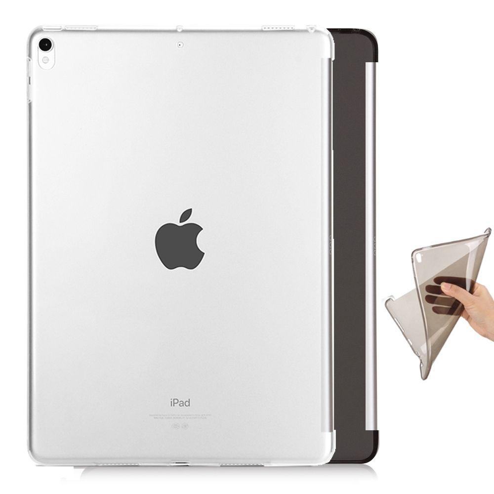 Effacer tpu cas de protection en silicone pour apple ipad pro 10.5 smart cover Partenaire clavier souple flexible fond retour cas peau shel