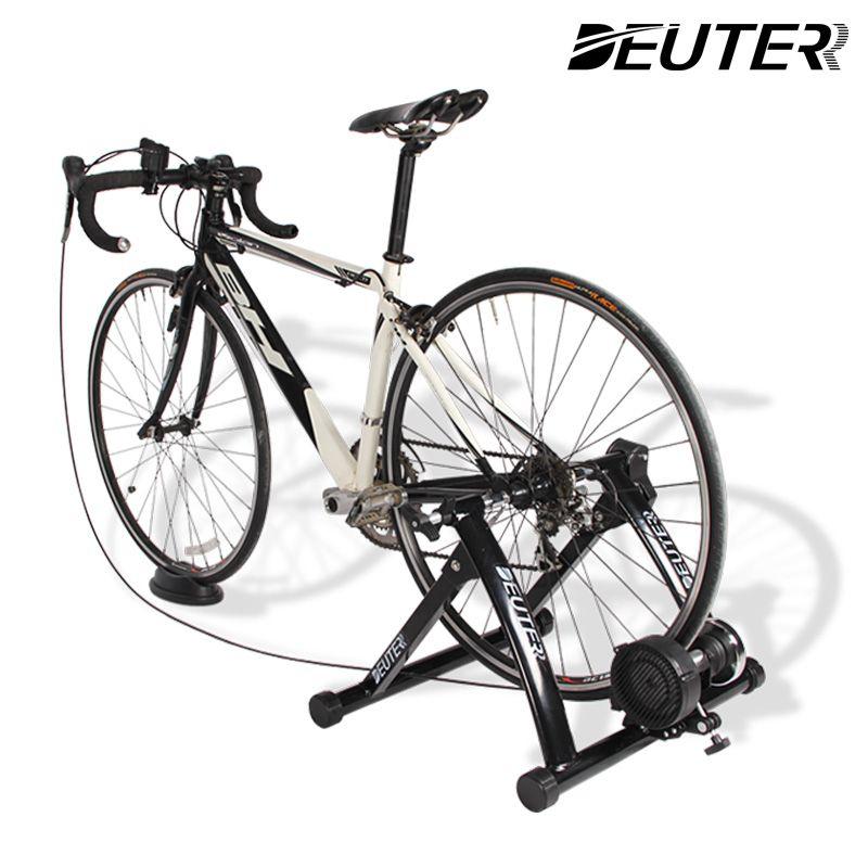 Radfahren Trainer Home Training Innen Übung 6 Geschwindigkeit Magnetische Widerstände Bike Trainer Fitness Station Fahrrad Trainer Rollen
