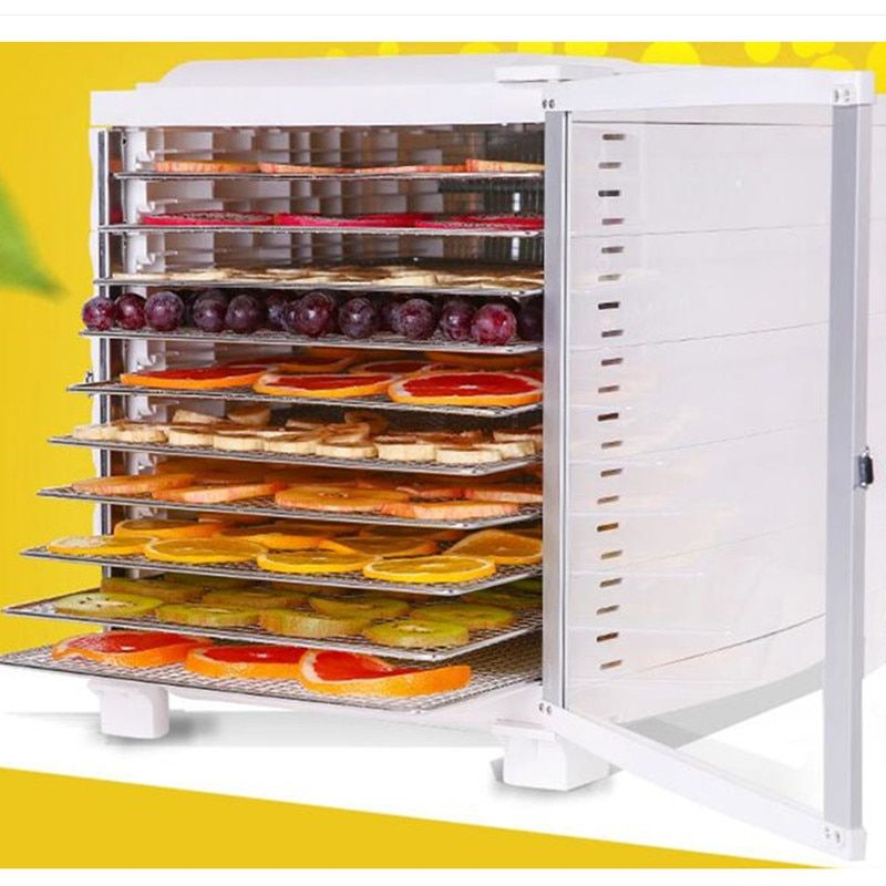 220V Multifunctional Electric Food Dryer Machine Household Automatic Food Dehydrator Commercial 10 Layers EU/AU/UK Plug