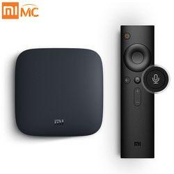 Internacional CAJA de Xiaomi mi 3 Elegante del Androide 6.0 WIFI Bluetooth 4 K HDR H.265 Decodificador DTS Youtube Netflix IPTV TV Box Media Player