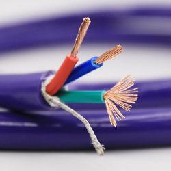 Audio Kelas 6N OFC 4 persegi referensi daya kabel kabel massal per meter kabel listrik kawat kabel audio hifi daya kabel