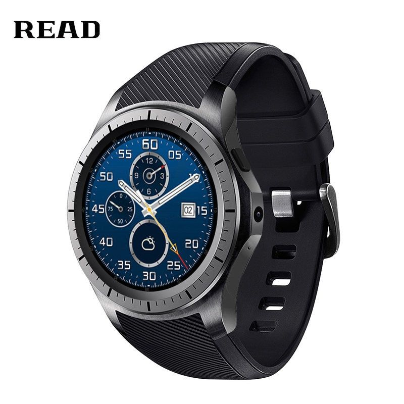 READ GW10 Dial Call 512MB+4GB RAM Heart Rate Monitor smart Watch for Android 5.1 3G / WiFi / GPS SIM Card Bluetooth music Video