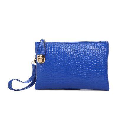 2017 new women Ladies handbag fashion crocodile pattern Korean version of the purse women bag