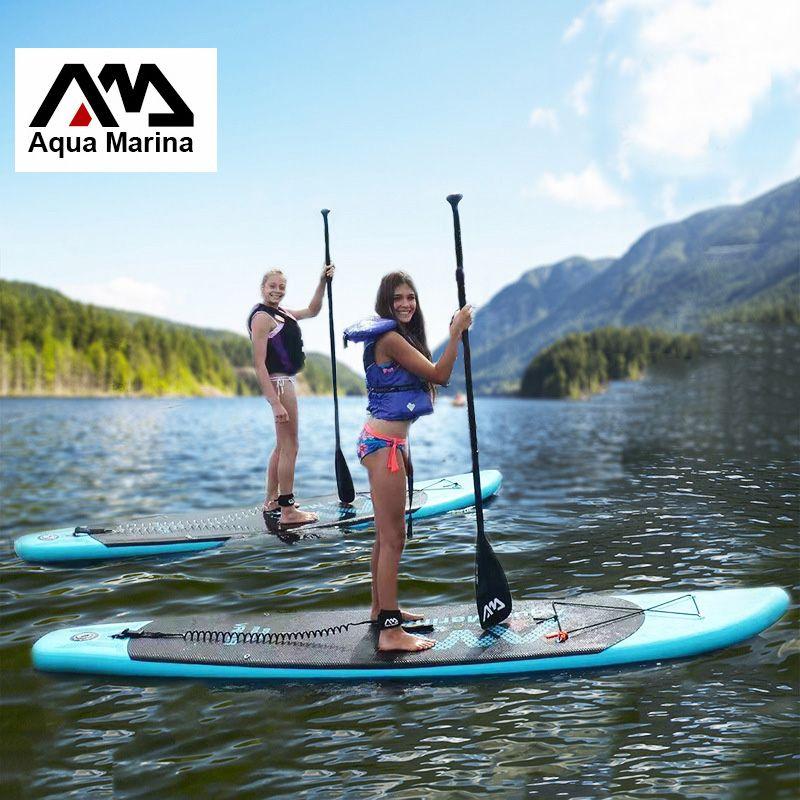 330*75*10 cm AQUA MARINA 11 füße DAMPF aufblasbare surfbrett stand up paddle board aufblasbare surf board sup paddel boot A01001