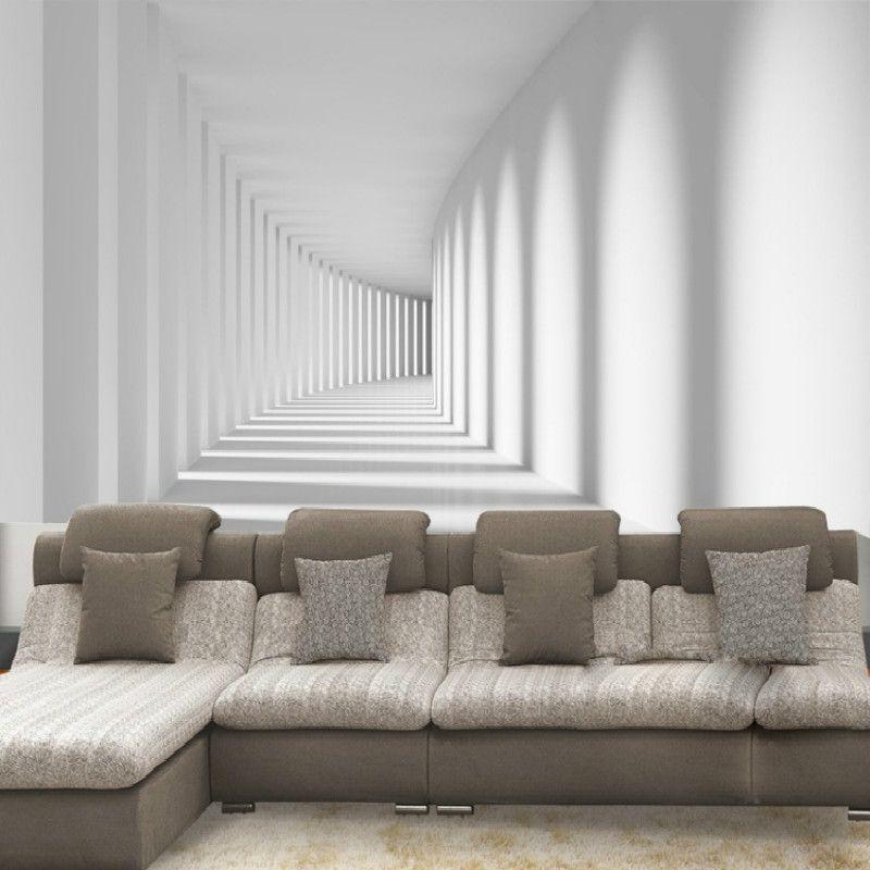 Papier peint 3D pour murs papier peint Mural 3D canapé fond tv papier peint photo Mural pour salon