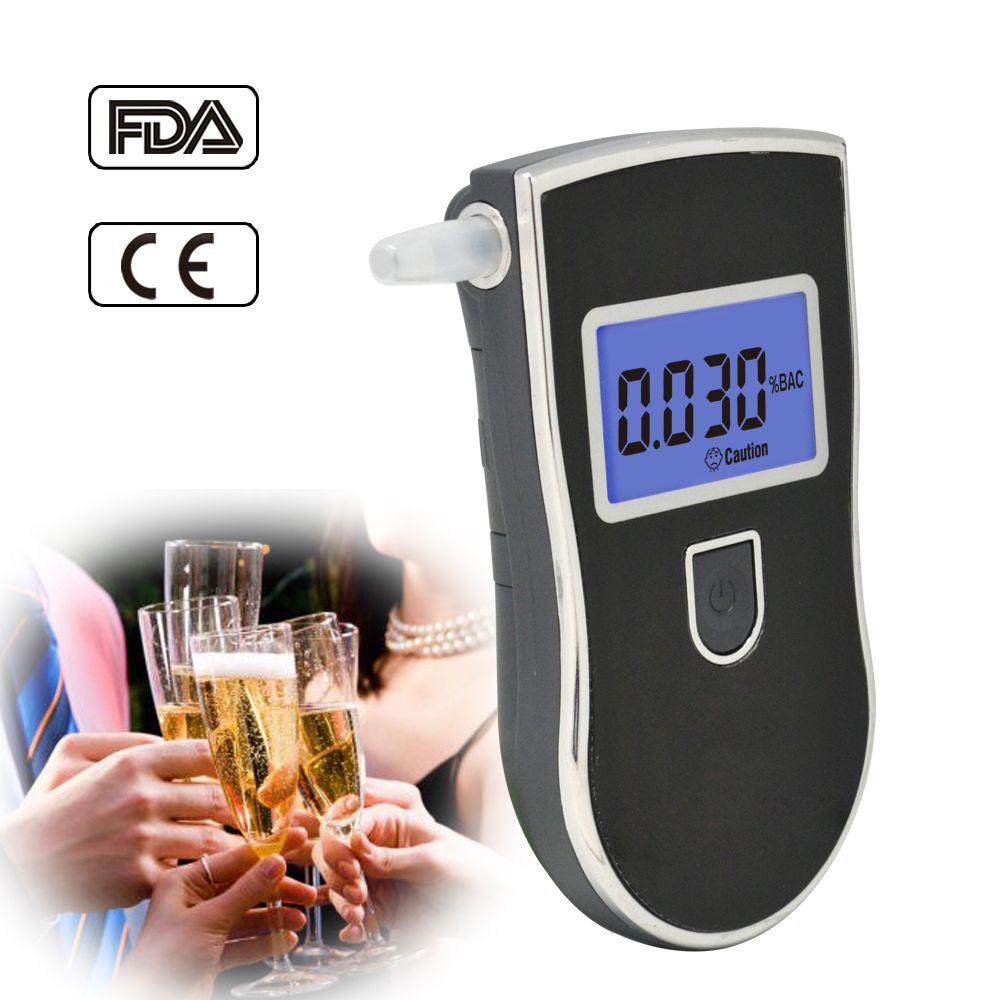 Testeur d'alcool alkotesteur alcootest alkoholtesteur professionnel alcootest détecteur AT-818 Portable