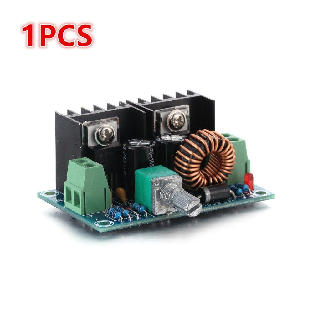 1Pcs 4-40V DC PWM Modulation SCR Electronic Voltage Regulator 200W 8A 61*41*27mm Car Voltage Stabilizer Accessories Car-styling