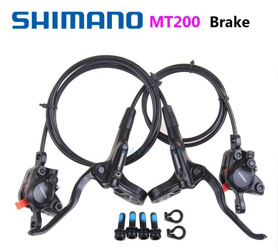 Shimano MT200 freins hydrauliques pour vélos BR-BL-MT200 frein vtt vélo frein à disque pince montagne plaquettes de frein M315 nouveau modèle 2019