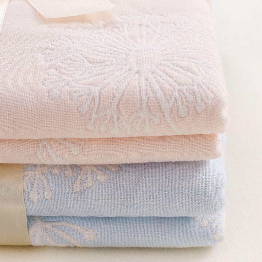 Muslinlife 110*110cm Cotton Bamboo Muslin Baby Blanket,Newborn Infant Swaddle Baby Towel, Luxury 6 layers muslin blanket