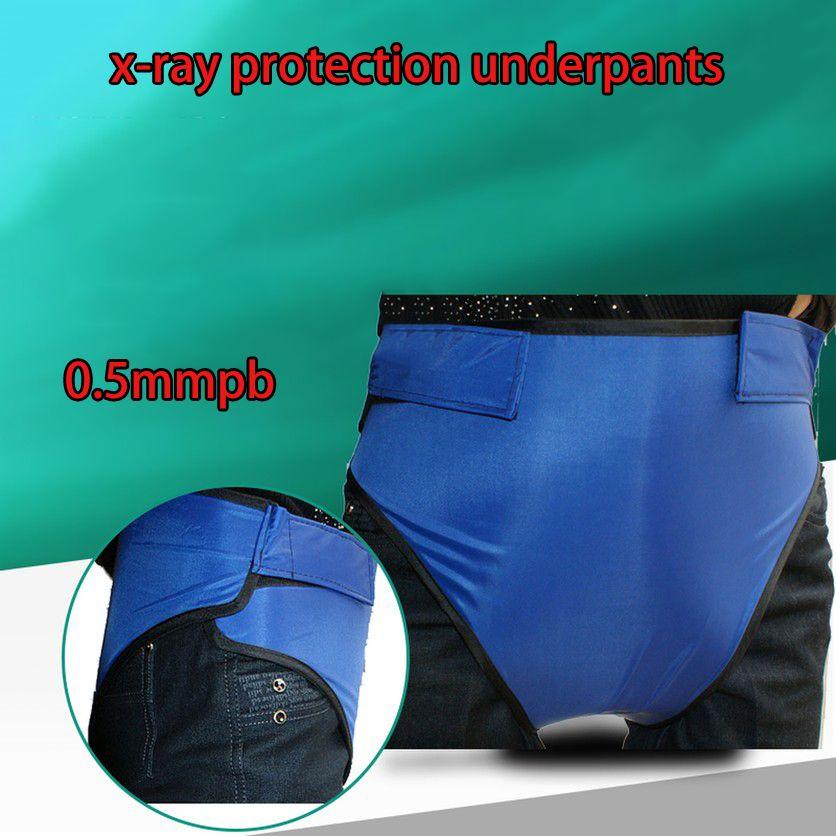 0,5 mmpb x-ray schutz unterhose männer frauen unisex anti-x-ray schutz unterwäsche sicherheit kleidung