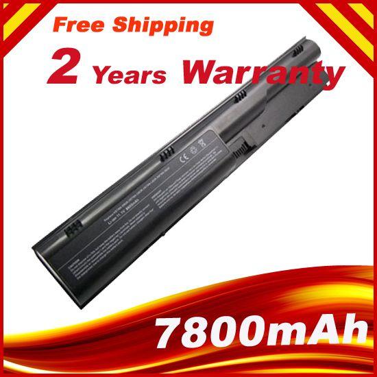 7800 mAh batterie d'ordinateur portable pour HP ProBook 4330 s 4431 s 4331 s 4430 s 4435 s 4436 s 4440 s 4441 s 4446 s 4530 s 4535 s 4540 s 4545 s s