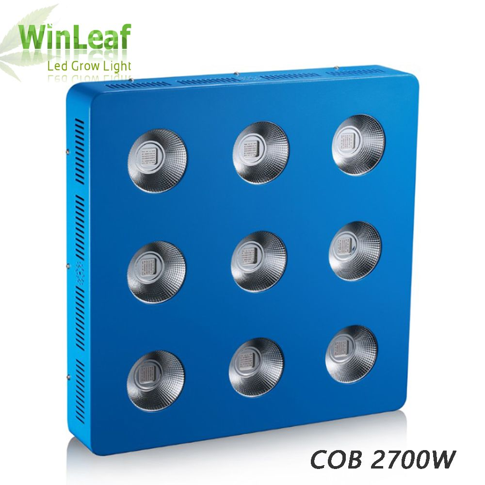600w/1200w/1800w/2700w COB LED Plant Grow Lights Full Spectrum for Vegetable, Hydroponics, Greenhouse Plant grow Tent and bloom