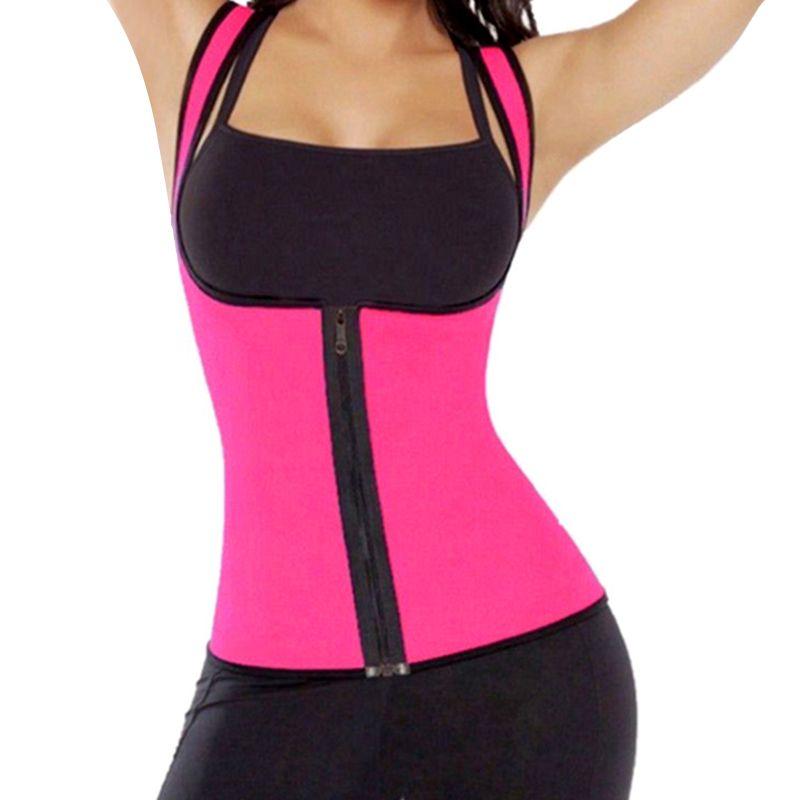 Hot Neoprene Body Shaper Slimming Waist Trainer Cincher Vest Women New Sexy 2019 dropship