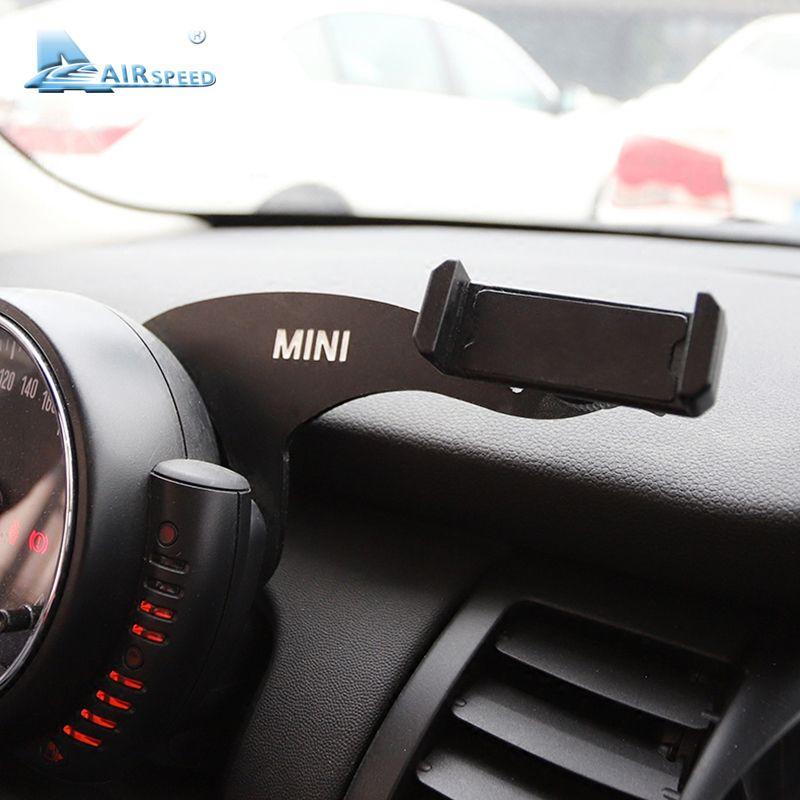 Fluggeschwindigkeit MINI Halterung Auto Handy Halter Auto Lenkrad Hinten Telefon Halterung für Mini Cooper R55 R56 Fließheck Zubehör