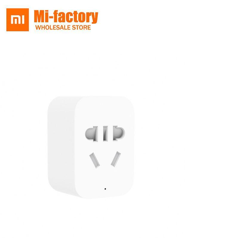 D'origine Xiaomi Zigbee Prise de courant Intelligente Sans Fil WiFi Interrupteur Zigbee Prise WiFi APP Sans Fil Commutateurs de Contrôle de L'UE US Plug UA