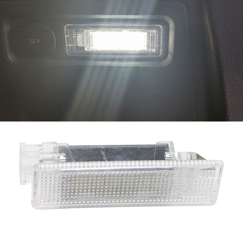 1x LED Luggage Compartment Trunk Boot Lights 12V for VW Caddy Eos Golf Jetta Passat CC Scirocco Sharan Tiguan Touran Touareg T5