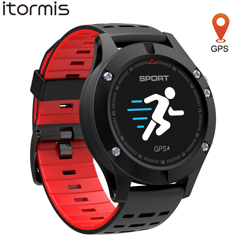 itormi GPS bluetooth smart watch smartwatch sport bracelet band Fitness tracker Color screen Heart rate Altitude for Android IOS