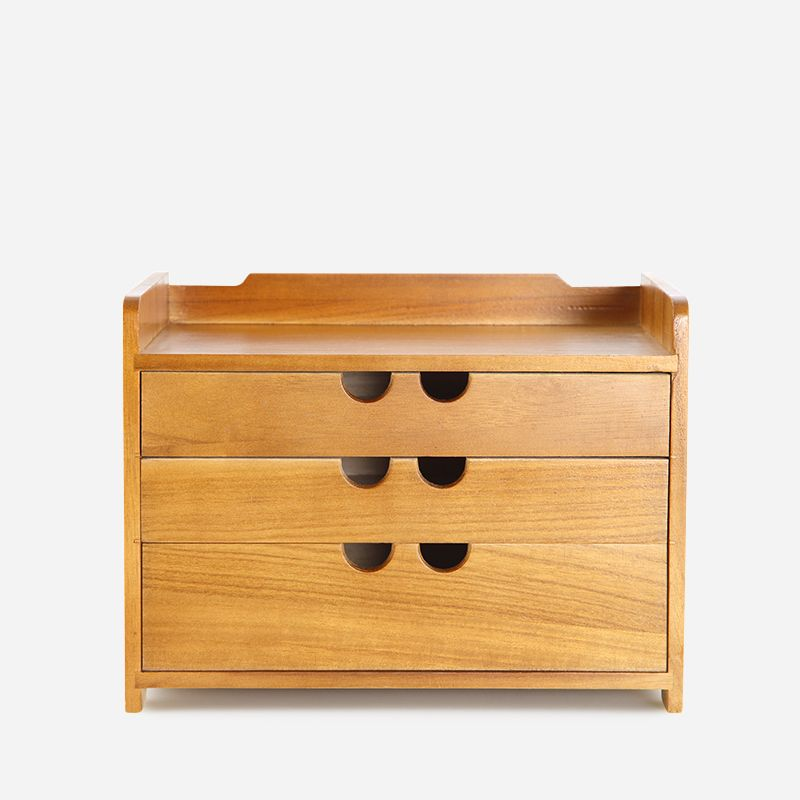 free shipping Wooden desk storage drawer debris cosmetic tool box jewelry retro style office Creative Home storage cabinet