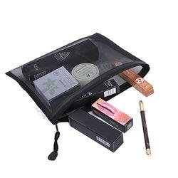 Casual Voyage Cosmétique Sac Femmes Zipper Make Up Maquillage Transparent Cas Organisateur de Stockage De Poche de Toilette Beauté Laver Kit Sacs