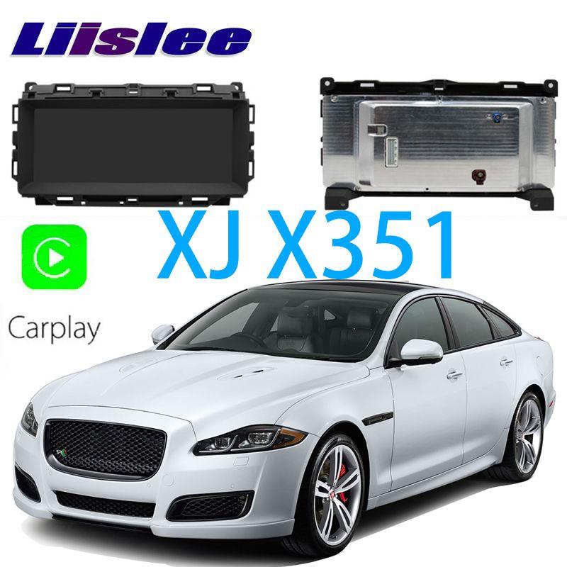LiisLee Auto Multimedia GPS Audio Hallo-fi Radio Stereo Für Jaguar XJ X351 2009 ~ 2018 Original Stil Navigation NAVI