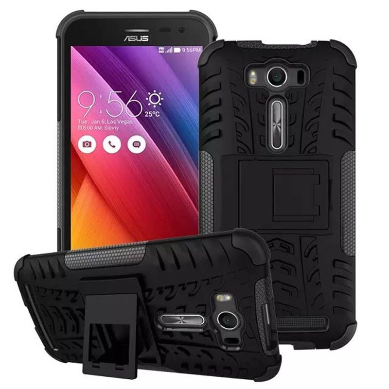 Hybrid TPU Silicone + Hard Phone Case For ASUS ZenFone 2 Laser ZE500KL Z00RD Z00ED 5.0 Inch Case Back Cover For Zenfone 2 Z00ED