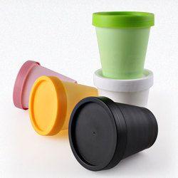 36X200G Silinder Kosong Kosmetik Krim Wadah Berwarna PP Perawatan Kulit Botol bulat Masker Pot Jar dengan Tutup Kemasan Kosmetik